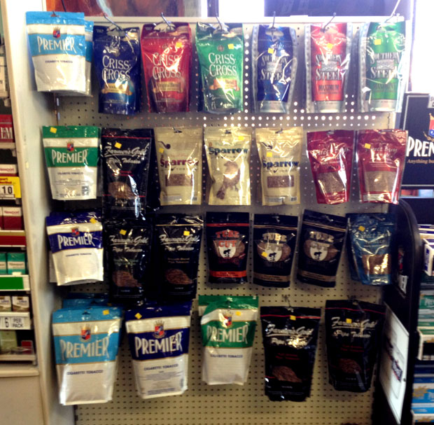 Albany Colonie Cigars Roll Your Own Cigarettes